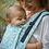 Thumbnail: Porte-bébé préformé bio LIMAS Flex - Flora Magic Mint