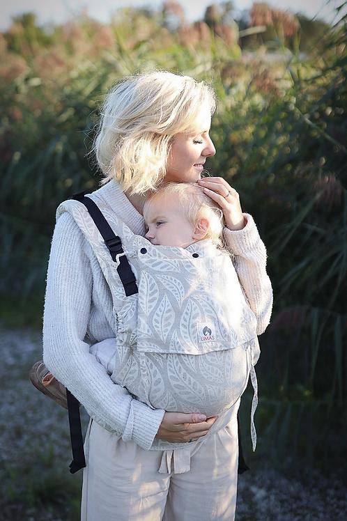 Porte-bébé préformé bio LIMAS Flex - Valerie Linen