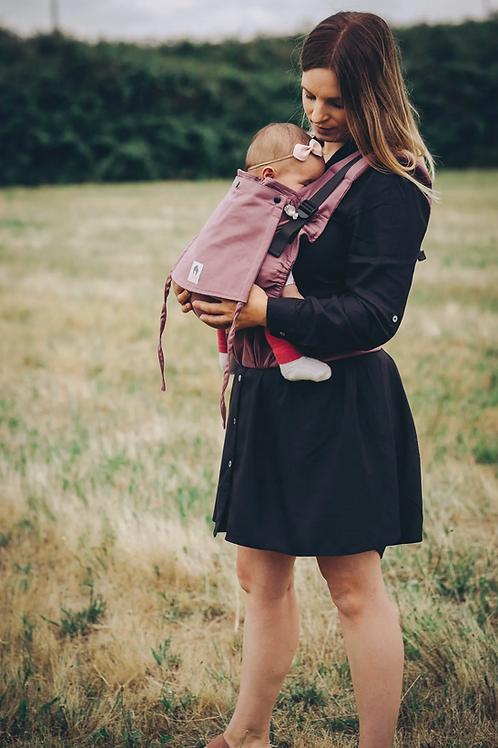Porte-bébé préformé bio LIMAS Flex - Blush