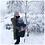 Thumbnail: Couverture de portage Mirabelle - Patron de couture Klafoutis
