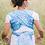Thumbnail: Écharpe tissée Be Lenka T6 - Mandala Bleu