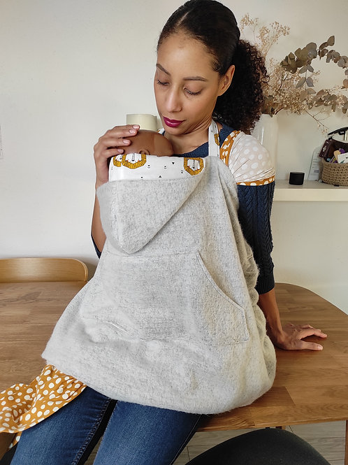 Couverture de portage Mirabelle - Patron de couture Klafoutis