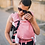 Thumbnail: Porte-bébé préformé Be Lenka Mini - Rose