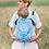 Thumbnail: Porte-bébé Be Lenka 4ever - Mandala bleu