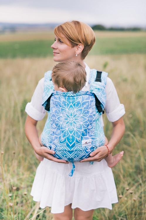 Porte-bébé Be Lenka 4ever - Mandala bleu