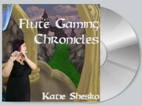 Flute Gaming Chronicles CD