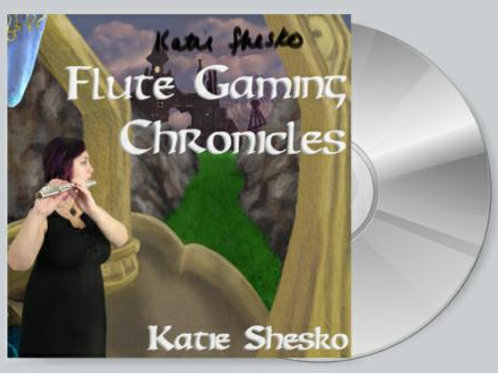 Signed Flute Gaming Chronicles Physical CD