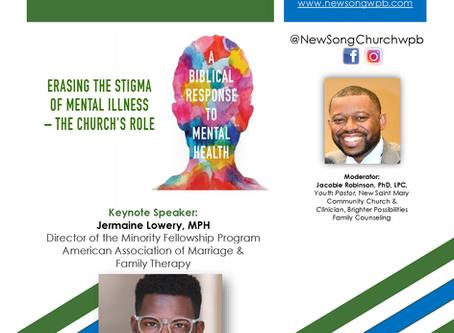 """Part 2 - """"Mental Health & the Church"""""""