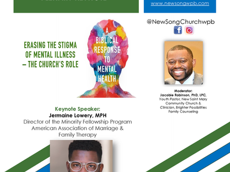 "Part 2 - ""Mental Health & the Church"""