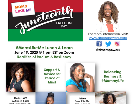 #MomsLikeMe Racial Trauma Healing & Support