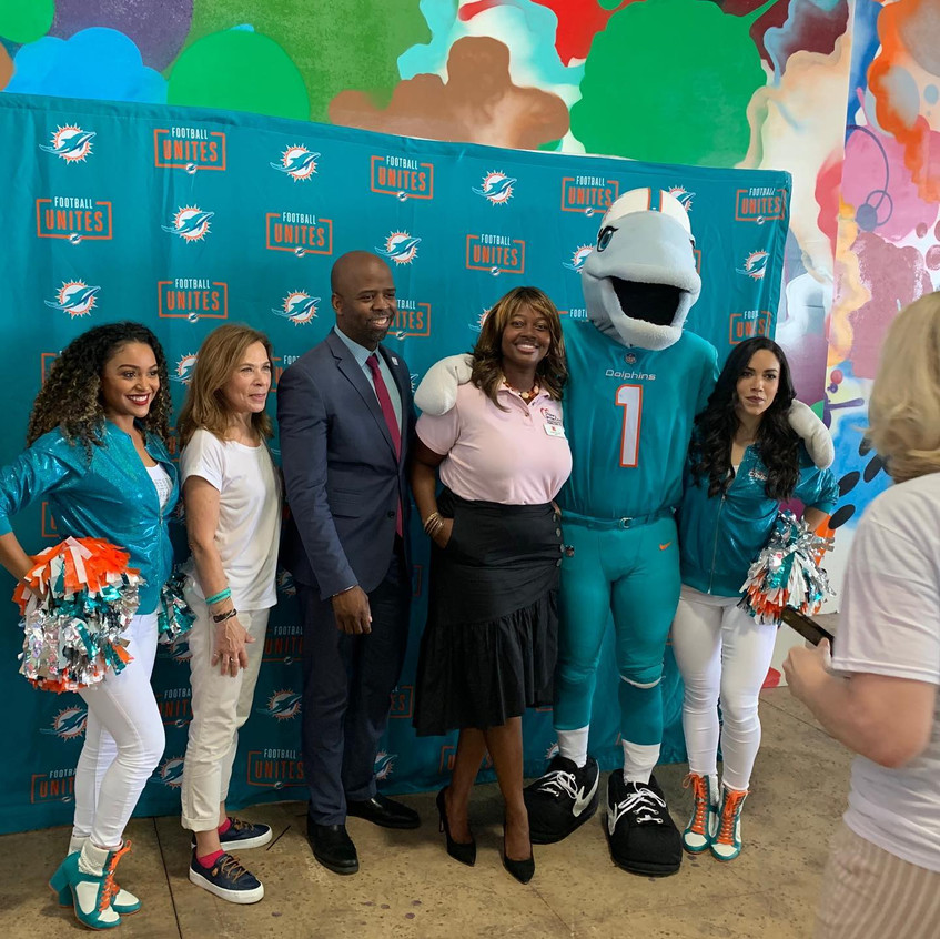 Miami Dolphins recognize WOT
