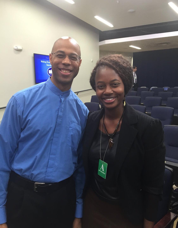 Dr. DeQuincy Lezine & Coach Debbie