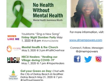 Mental Health Awareness Month 2020