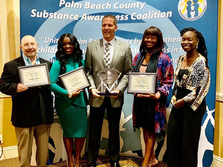 PBC Coalition Champion Awards Luncheon: Coach Debbie, Faith-based nominee for mental health awarenes