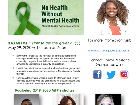 Mental Health Month 2020 Wrap up: Share the Wealth!