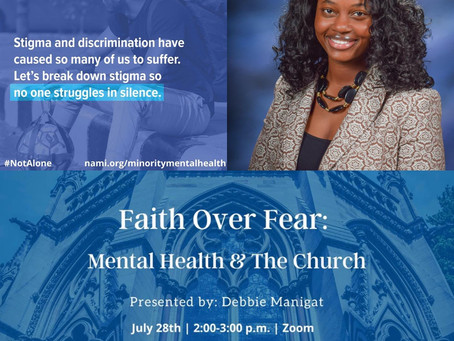 """Faith Over Fear"" Bringing Truth & Love to Mental Wellness"
