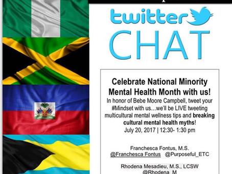 #Mindset Twitter Chat: Multicultural Myths