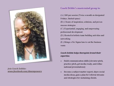 Coach Debbie's Clinician Collective