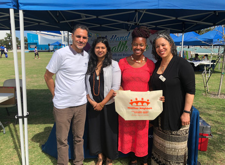 """Healthier Neighbors """"Hands on Health Fair"""" @ Riviera Beach Marina"""