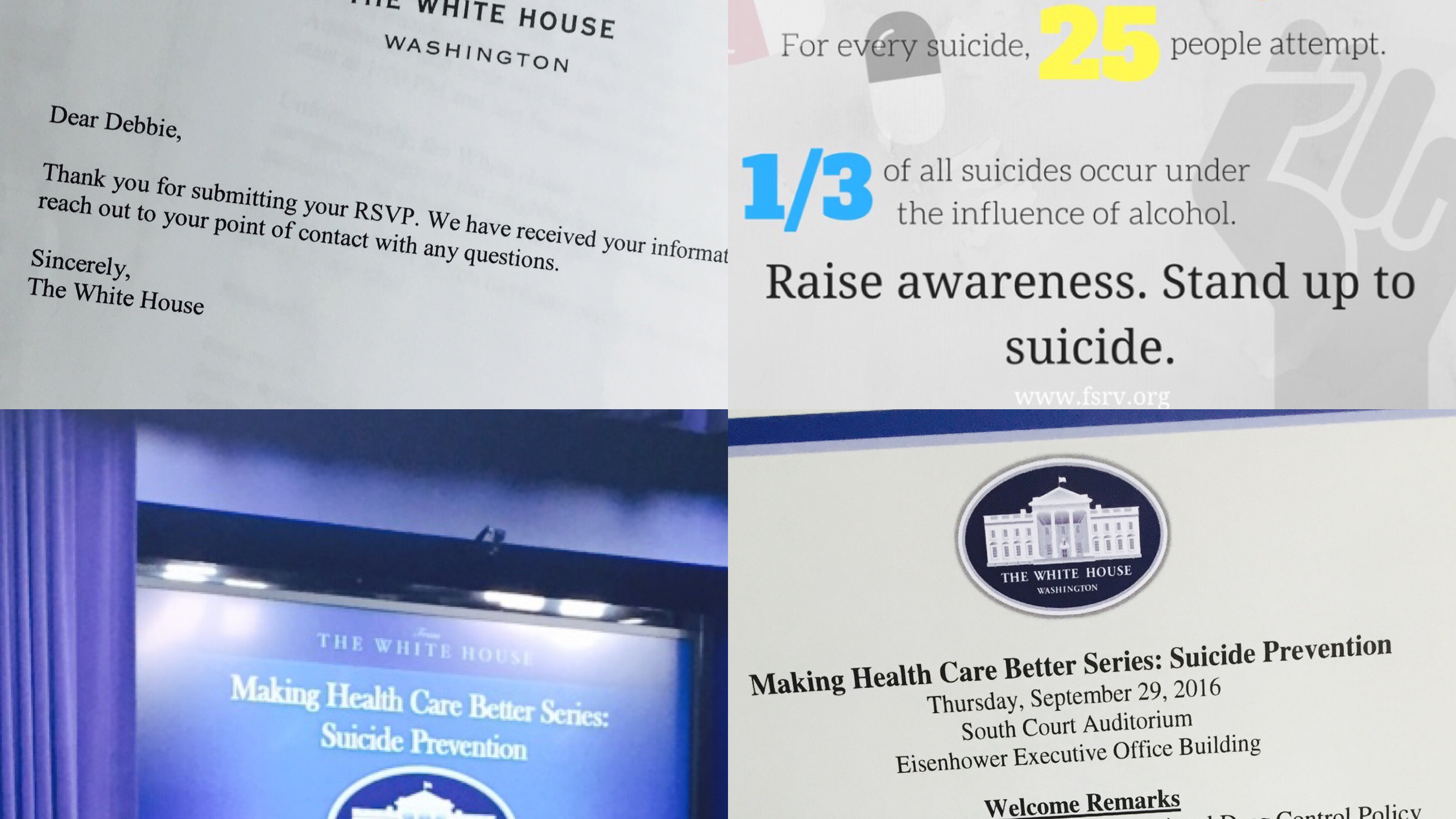 White House Suicide Prevention Event