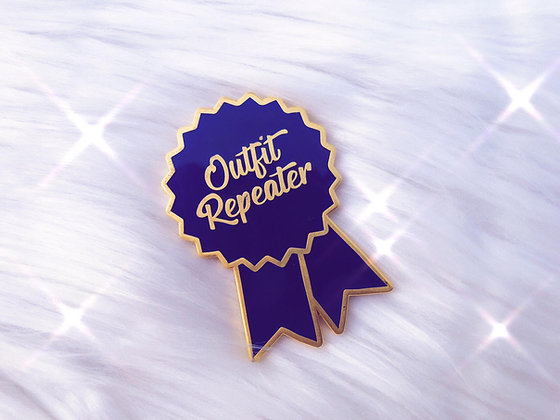 Outfit Repeater Enamel Pin