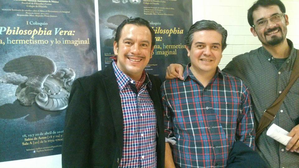 Con mis grandes amigos Carlos Rodríguez y Marcelo Méndez