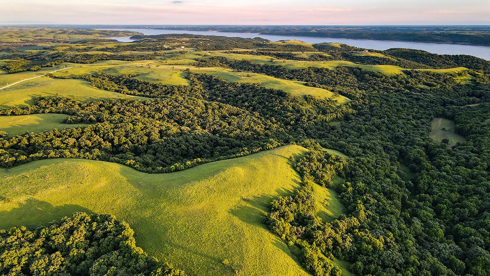 An eagle's eye view of Booth Creek Ranch