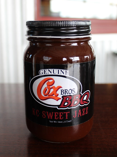 KC Sweet Jazz BBQ Sauce
