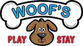 Woof's Play & Stay Logo