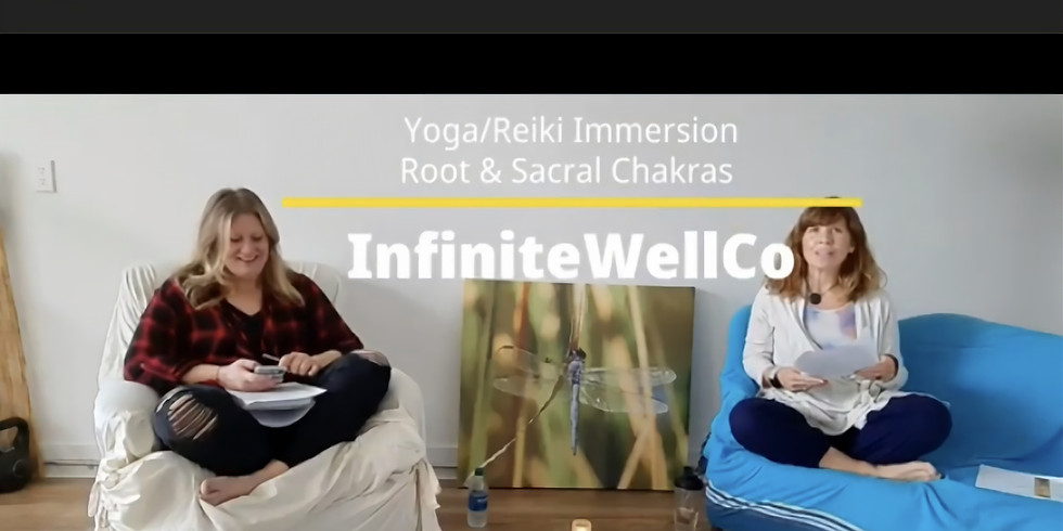 Yoga/Reiki Immersion 3-part series (Recording)