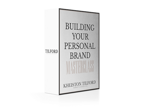 Building your Personal Brand Masterclass