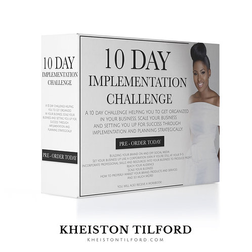 10 Day Implementation Challenge