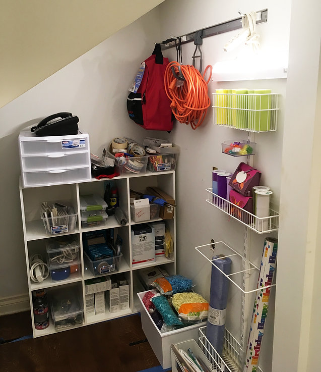 Professional Organizer Craft Nook After Image