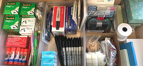 Professional Organizer Desk Drawer Makeover