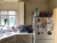 Professional Organizer Chaotic and Cluttered Kitchen Before Makeover