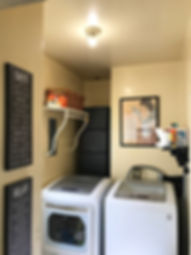 Professional Organizer Laundry Room After Makeover