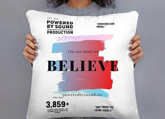 Believe Series Basic Pillow