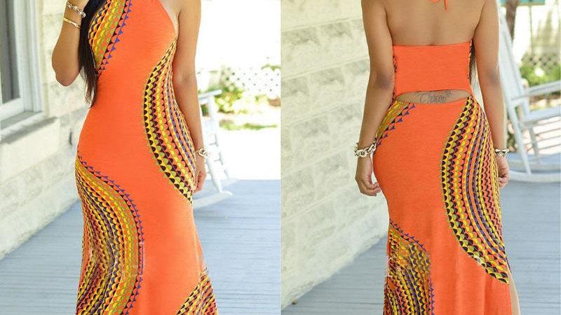 New Fashion Women Halter Dress Sleeveles