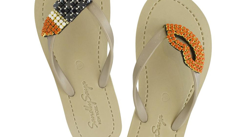 Lipstick - Women's Flat Sandal