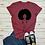 Thumbnail: 2020 New Summer Casual Short Sleeve Pink Lady Print T Shirt