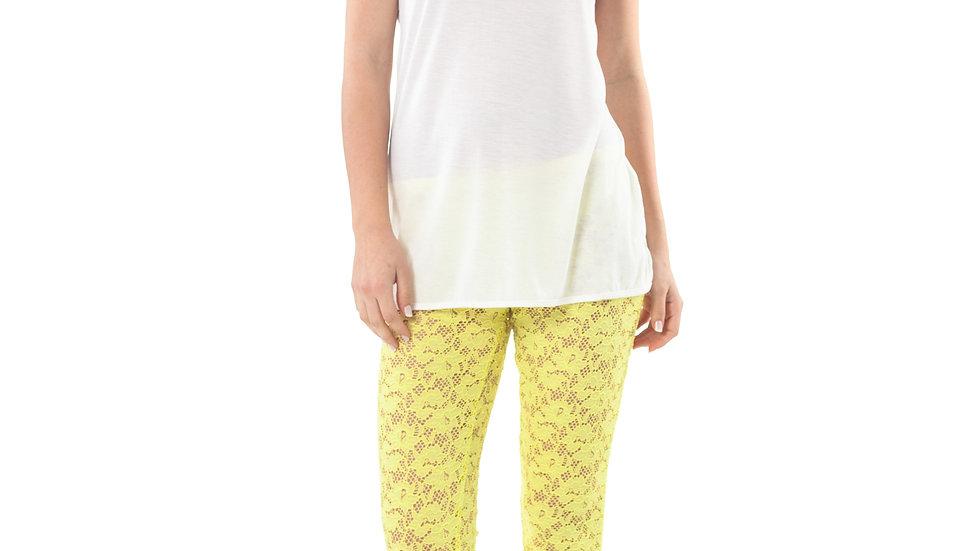 Lace Leggings Yellow