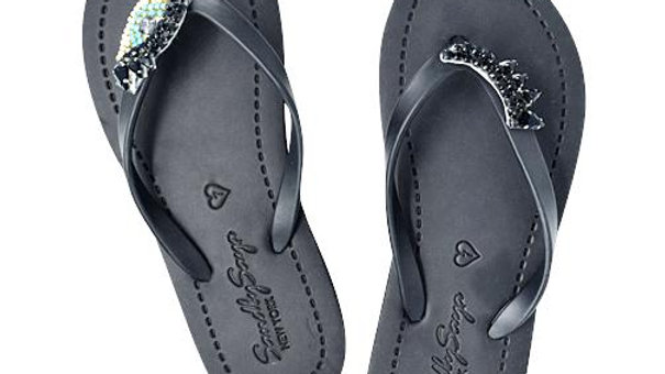 Eyes - Women's Flat Sandal