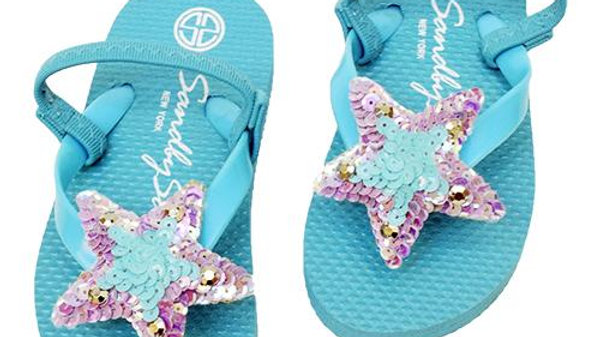 Hamptons (Blue) - Baby / Kids Sandal