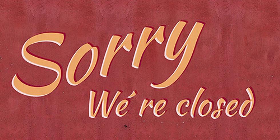 Congés d'été (fermeture du 10 au 31 août)