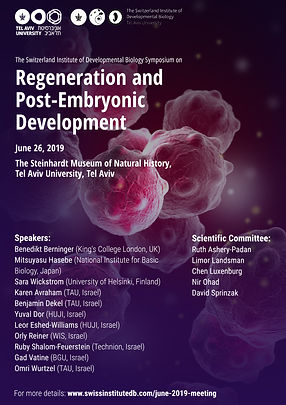 Regeneration and Post-Embryonic Developm