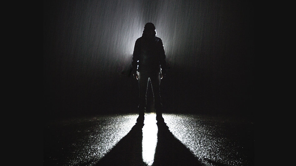 Im Regen stehen