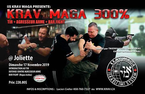 300% Krav Maga Joliette 2019