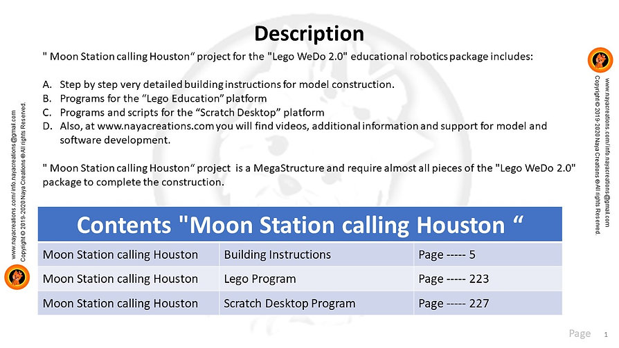 Moon Station calling Houston descritpion