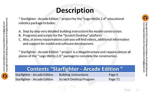 Starfighter - Arcade Edition description