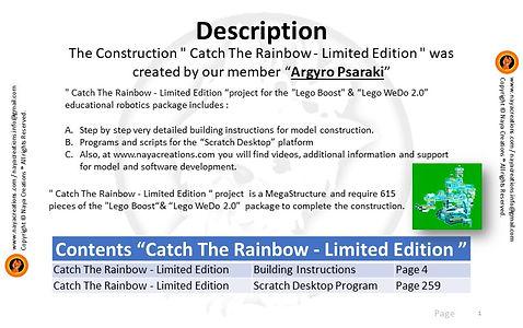 Catch The Rainbow Limited Edition Descri